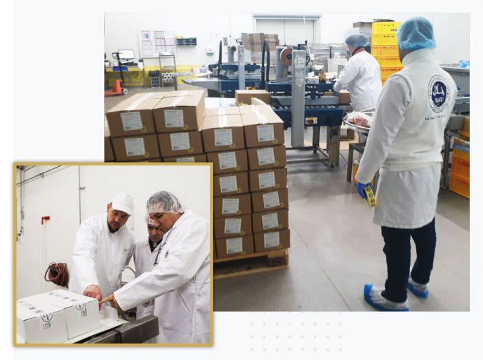 EHT - European Halal Trust - Packaging & Stocking